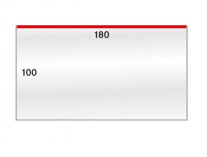 100 x LINDNER 883LP Schutzhüllen Hüllen Banknotenhüllen 180 x 100 mm Ideal für Banknoten FDC