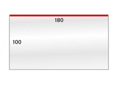 500 x LINDNER 883LP Schutzhüllen Hüllen Banknotenhüllen 180 x 100 mm Ideal für Banknoten FDC