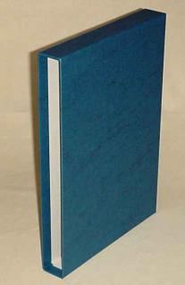 KOBRA B4K Blau Schutzkassette - Kassette Für das Bogenalbum B4 - Vorschau 1