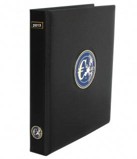 SAFE 7432-1 PREMIUM EURO ANNO JAHRGANGS MÜNZALBUM (leer) 2013 zum selbst befüllen