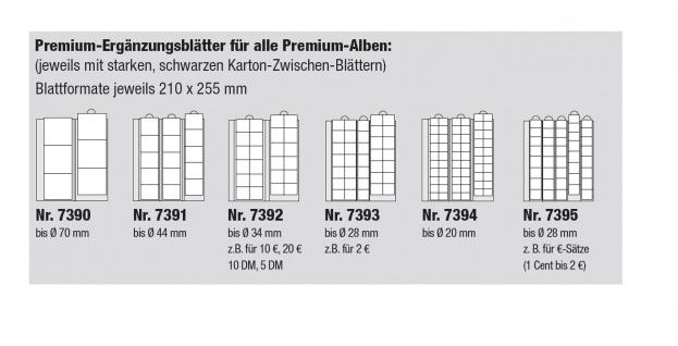 10 SAFE PREMIUM Ergänzungsblätter Münzhüllen Münzblätter 7390 7391 7392 7393 7394 7395 Freie Auswahl