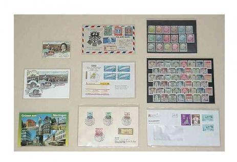 """1000 KOBRA T74-PET Postkartenhüllen Schutzhüllen Hüllen """" Archivfolie PET """" altes Format Postkarten Ansichtskarten Banknoten 95 x 147 mm - Vorschau 3"""