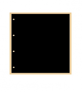 10 x KOBRA G40C Zwischenblätter ZWL Schwarz Für alle Einsteckblätter G41E G42E G43E G46E G47E - Vorschau 1