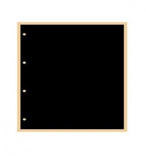 100 x KOBRA G40C Zwischenblätter ZWL Schwarz Für alle Einsteckblätter G41E G42E G43E G46E G47E