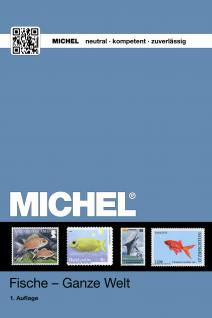 Michel Motive Briefmarken Katalog Fische Ganze Welt 2018 + ETB Bonus GRATIS