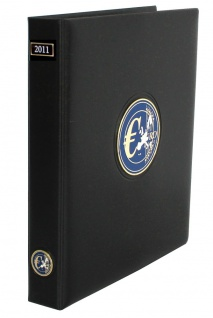 SAFE 7430-1 PREMIUM EURO ANNO JAHRGANGS MÜNZALBUM (leer) 2011 zum selbst befüllen