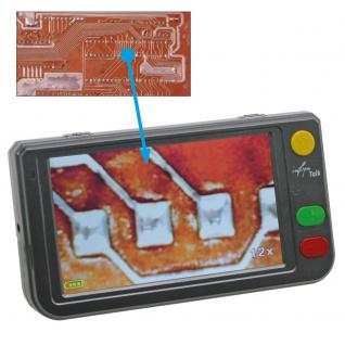SAFE 9790 LED Digital Mikroskope Portable + Standfuß 4 GB Micro SD Karte - 2 - 250 fache Vergößerung Für Handel & Handwerk & Industrie - Münzen - Briefmarken - Banknoten - Mineralien - Fossilien - Lacke - Elecktronische Bauteile und und und - Vorschau 2