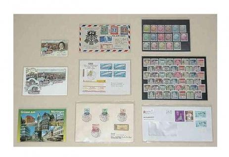 """1000 x KOBRA T83Q-PET Schutzhüllen Hüllen """" Archivfolie PET"""" Für Briefe Postkarten Banknoten 128 x 190 mm - Vorschau 3"""