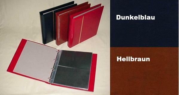 1 x KOBRA G12E Ergänzungsblätter Klarsichthüllen glasklar + schwarzer Einlage 2 Taschen 235 x 140 mm - Vorschau 4