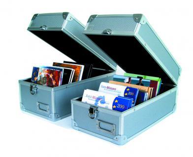 SAFE 163 ALU Sammelkoffer Koffer Für bis zu 600 Postkarten Ansichtskarten Einsteckkarten A6 / C6 - Vorschau 2