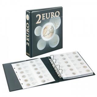 LINDNER 3535M2 Münzalbum PUBLICA M 2 Euro - Vordruckalbum 2015 - 2017