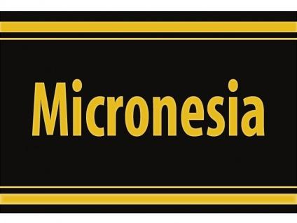 "1 x SAFE 1130 SIGNETTE Aufkleber selbstklebend "" Micronesia "" Mikronesien"