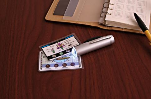 LINDNER 7115 LED Mini Mikroskop im taschenformat 50 x fache Vergrößerung - Vorschau 4