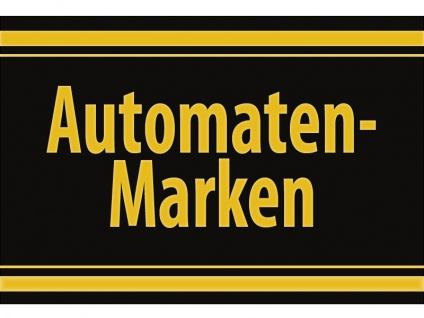 """1 x SAFE 1130 SIGNETTE Aufkleber selbstklebend """" Automatenmarken """""""