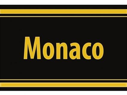 """1 x SAFE 1130 SIGNETTE Aufkleber selbstklebend Fürstentum """" Monaco """""""