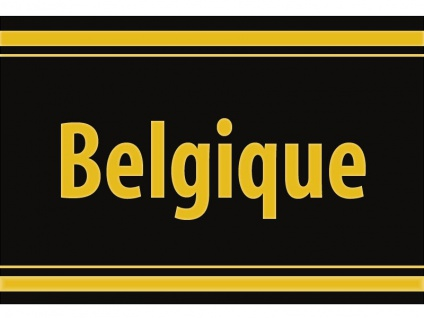 """1 x SAFE 1130 SIGNETTE Aufkleber selbstklebend Belgien """" Belgique """""""