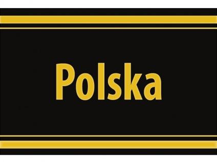 "1 x SAFE 1130 SIGNETTE Aufkleber selbstklebend "" Polska "" Polen"