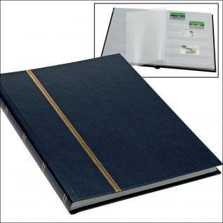 SAFE 131-4 Briefmarken Einsteckbücher Einsteckbuch Einsteckalbum Einsteckalben Album im Buchformat A5 Blau 16 weissen Seiten