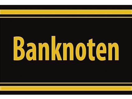 """1 x SAFE 1130 SIGNETTE Aufkleber selbstklebend Papiergeld - Geldscheine """" Banknoten """""""