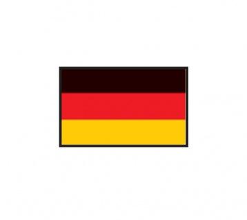 1 x SAFE 1175 SIGNETTE Flagge Deutschland - Germany Aufkleber Kennzeichnungshilfe - selbstklebend