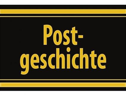 """1 x SAFE 1130 SIGNETTE Aufkleber selbstklebend """" Postgeschichte """""""