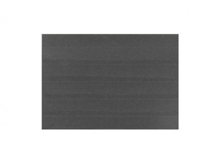 100 x HAWID HA570000 DIN A5 Schwarze Auswahlkarten Einsteckkarten Steckkarten Klemmkarten 210 x 148 mm 5 Streifen + Deckfolie