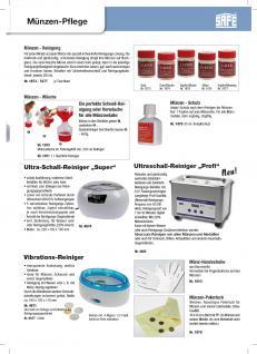 SAFE 1876 SAMBOL SILBER Münzbad Tauchbad Münzreiniger Reiniger Bad für Münzen Schmuck 250 ml - Vorschau 3