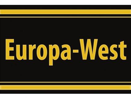 "1 x SAFE 1130 SIGNETTE Aufkleber selbstklebend "" Europa-West"""