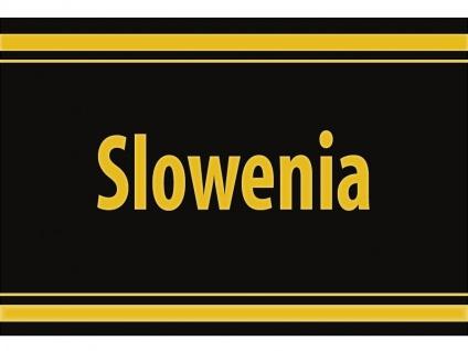"1 x SAFE 1130 SIGNETTE Aufkleber selbstklebend "" Slowenia "" Slowenien"