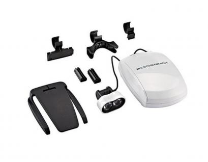 Lindner 7188 ESCHENBACH Headlight LED Beleuchtung für die Lupenbrillen MAXDetail & MAX Detail Clip - Vorschau 2
