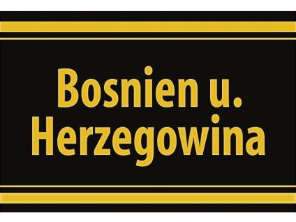 "1 x SAFE 1130 SIGNETTE Aufkleber selbstklebend "" Bosnien & Herzegowina """