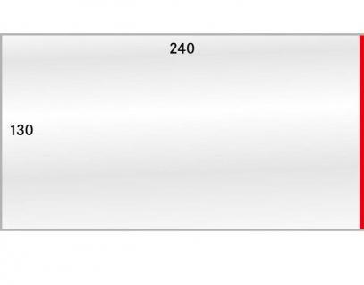 1000 x LINDNER 892P Schutzhüllen Hüllen Banknotenhüllen 240 x 130 mm Ideal für Briefe DIN C4 - Kleinbogen Banknoten