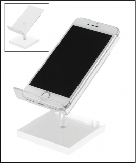 SAFE 3142 Acryl Design Mobiltelefon / Handy Ständer Halter für alle Iphones & Smartphones