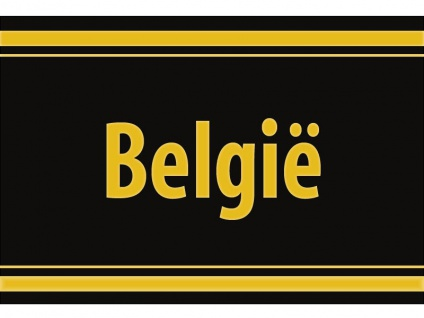 """1 x SAFE 1130 SIGNETTE Aufkleber selbstklebend Belgien """" Belgie """""""