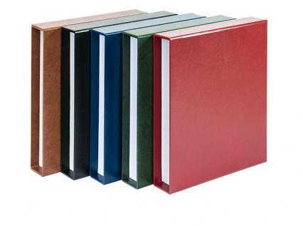 LINDNER 1103E-B Blau ETB - Album Ringbinder Classic + 20 Klarsichthüllen 819 Für Ertstagsblätter - Vorschau 4