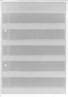 10 x KOBRA A1 Einsteckblätter Ergänzungsblätter glasklar transparent 1 Tasche 125 x 190 mm - Vorschau 4
