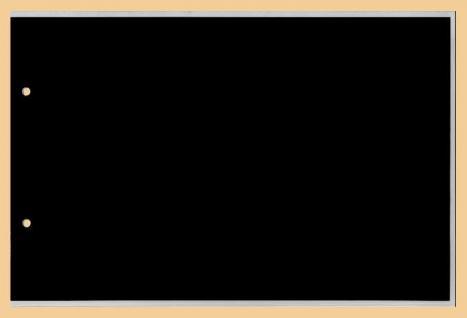 100 x KOBRA G7E Ersatztaschen Ergänzungsblätter glasklar + schwarzem Einsteckblatt 240x170 mm DIN A5 Für gr. Briefe DIN A5 - Banknoten - Geldscheine Bilder - Fotos