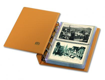 SAFE 7886 Luxus Skai Compact Postkartenalbum Banknotenalbum mit 20 Blättern 7869 erweiterbar bis 300 alte Postkarten Banknoten - Vorschau 1