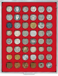 Lindner 2149 Münzbox Münzboxen Standard 48 X 28 Mm Münzen