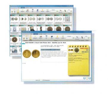 SAFE Numix Euro 2017 Münzen Software Katalog Sammlerverwaltung DVD CD-ROM 1999 - 2016 - Vorschau 4