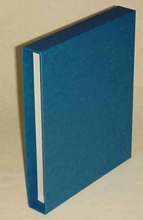 KOBRA B4 Blau Bogenalbum + 50 Hüllen für bis zu 100 Briefmarken Bogen Blocks bis 240 x 360 mm - Vorschau 3