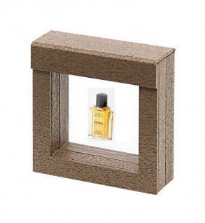 LINDNER 4870 NIMBUS 70 Holzdekor Braun Sammelrahmen Schweberahmen 3D 70x70x25 mm Für Parfum Mini Flacons - Vorschau 1
