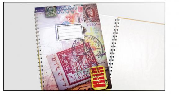 SAFE 104 Motiv - Briefmarken Einsteckbuch Einsteckalbum Album DIN A4 - 8 weissen Seiten