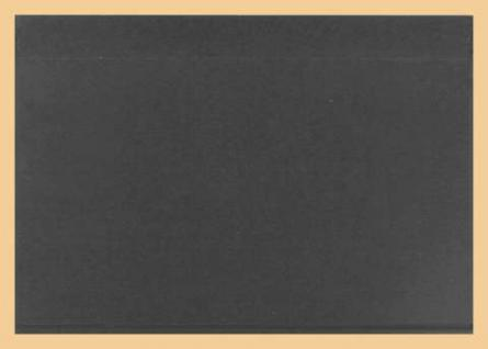 10 x A5 KOBRA K11 Extra starke Kunststoff Einsteckkarten Steckkarten Schwarz Vorderseite 210 x 147 mm mit 1 Streifen 202 x 121 mm - Vorschau 2