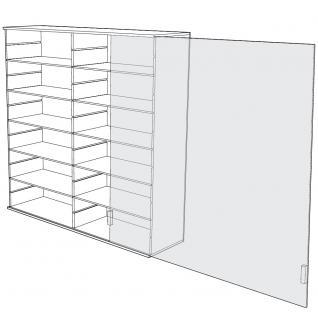 SAFE 5211 ACRYLGLAS Sammel Vitrinen Universal XL Modul B Maße 60 x 60 x 10 cm + 2 x 4 Zwischenböden - Für Ihre Schätze von A - Z - Vorschau 4