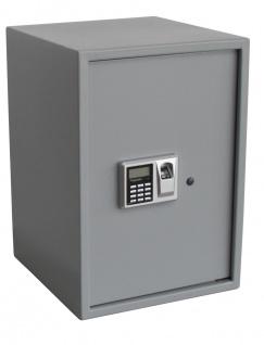 "SAFE 3995 Security Tresor "" Maxi "" Möbeltresor Wandtresor Schliessfach Banksafe mit elektonischem Zahlenschloss 350x370x500 mm + Fingerprint"
