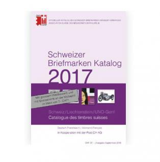 Multipress SBK Schweizer Briefmarken Katalog 2017 - Schweiz - Liechtenstein - UNO Genf in Farbe
