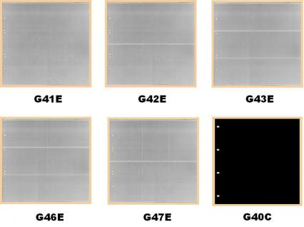 10 x KOBRA G46E Ergänzungsblätter - Ersatzblätter 6 Taschen glasklar Querformat 120 x 80 mm Für Banknoten - Liebigbilder - Reklamebilder Sammelbilder - Vorschau 2