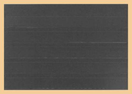 10 x A5 KOBRA K05 Extra starker Karton Einsteckkarten Steckkarten Schwarz Vorderseite versiegelt 210 x 147 mm mit 5 Streifen 202 x 18 mm - Vorschau 2