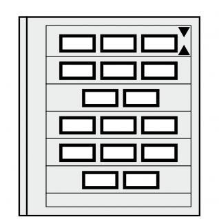 1 x SAFE 664 dual Blankoblätter Einsteckblätter Spezialblatt Burgen Schlösser Paare Automatenmarken